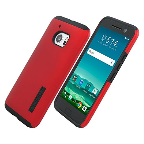 Incipio Protective Case for HTC 10 - Retail Packaging - Red / Black ()