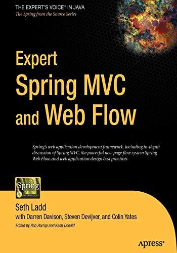 Expert Spring MVC and Web Flow (Best Java Mvc Framework)