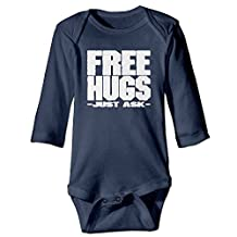 Free Hugs Just Ask Toddler Baby Onesies Toddler Clothes Long Sleeves