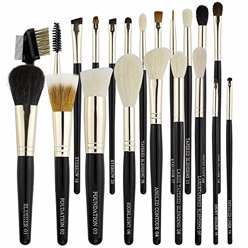 make up brush real hair - 7