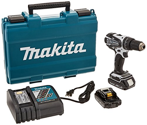 Makita XPH01CW 18V Compact Lithium-Ion Cordless 1/2-Inch Hammer Driver-Drill Kit (Discontinued by Manufacturer)