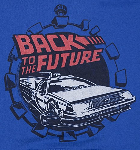 Mens Back to the Future Retro Delorean Hoodie