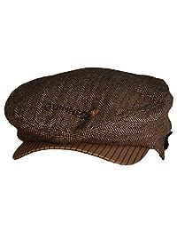Guinness Brown Tweed Flat Cap