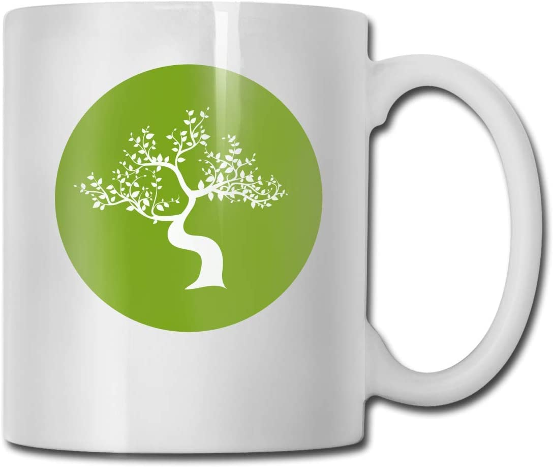 Japanese Bonsai Tree Logo Funny Coffee Mug Cool Coffee Tea Cup 11 Ounces Perfect Gift For Family And Friend Amazon Co Uk Kitchen Home