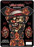 Lethal Threat LT70027 Tank Pad (Flaming Clown), 1 Pack