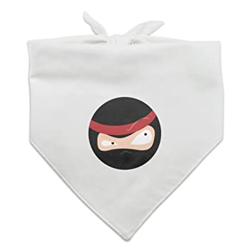 Amazon.com : Graphics and More Ninja Face Head Funny Dog Pet ...