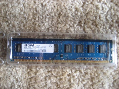Elpida 2GB DDR3 1333 (PC3 10600) 240-Pin DDR3 SDRAM Desktop Memory Model (Ddr3 Sdram 240 Pin)