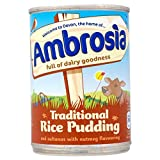 Ambrosia Traditional Rice Pudding with Sultanas & Nutmeg (400g) - Pack of 2