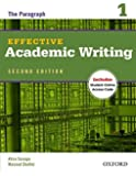 Effective Academic Writing 2e Student Book 1 (Effective Academic Writing Second Edition)