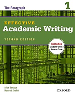 Grammar for great writing a 9781337115834 amazon books effective academic writing 2e student book 1 effective academic writing second edition fandeluxe Images
