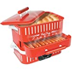 Cuizen CST-1412B Retro Hot Dog Steame...