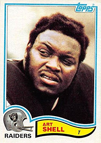 Art Shell Football Card (Oakland Raiders) 1982 Topps (Art Shell)