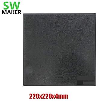 WanHao i3 Ultrabase Professional 3D Printer Platform Glass Build Plate Surface