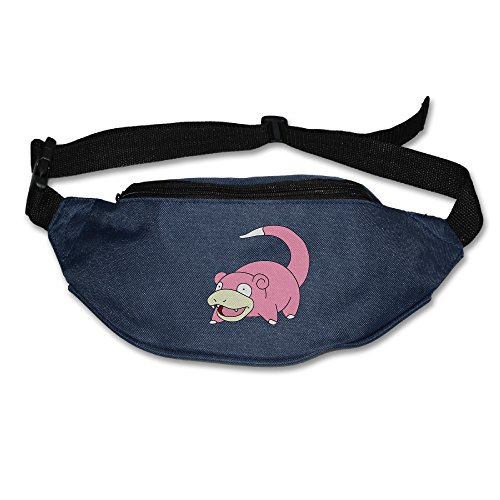 [Pokemon Go Slowpoke Waist Pack Fanny Bag Running Belt Navy] (Slowpoke Costume)