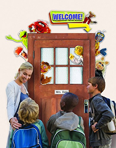 (Eureka Back to School Muppets Door and Window Go-Around Classroom Decorations for Teachers, 2pc, 17'' W x 24'')