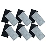Think Crucial 12 Drinkwell Compatible Replacement 2-Chamber Charcoal Filters, Fits Big Dog, Everflow, Mini, Multi-Tier, Original, Outdoor Dog, Platinum, Zen Fountains