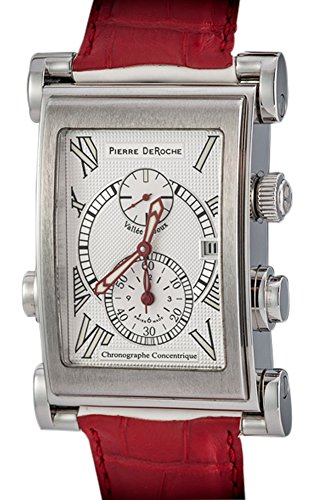 "Pierre deRoche SplitRock Chronograph ""Concentrique"" Red Racing Edition. Rare"