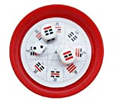 ?L?T?P? Easy fortune-telling Divination Dice Ba gua Sixty-four trigrams Tarot Zeichiku Yin five elements getting started Feng shui Purification fortune (Red)