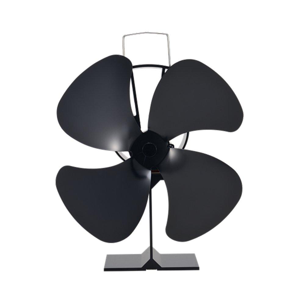 Generic ventilador de estufa Ecofan Classic cuatro hojas diseño: Amazon.es: Bricolaje y herramientas