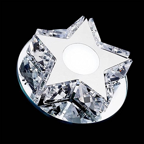 TUNBG AC85-245V LED 3W Crystal Ceiling Lamp/Crystal Spotlight/Concealed Lights, 12050(mm), White Light