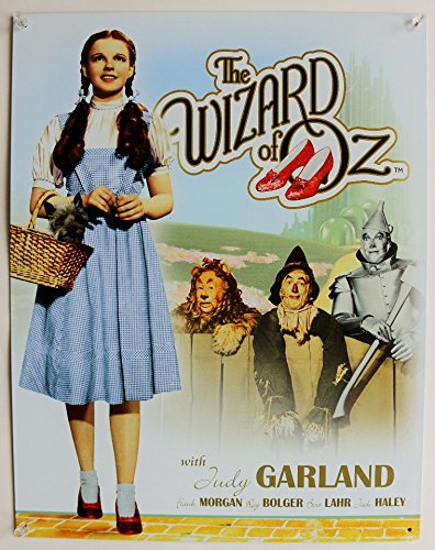 Wizard of Oz Movie Poster Tin Sign , 12x16