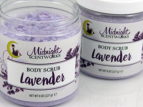 Sugar Scrub, Lavender, Body Scrub (Handmade Sugar Body Scrub)