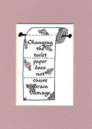 Toilet Paper Funny Saying Home Decor Humor Bathroom Wall Sign. Amazon com  Toilet Paper Funny Saying Home Decor Humor Bathroom