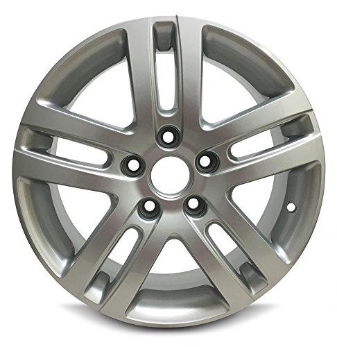 Volkswagen Jetta 16 Inch 5 Lug 10 Spoke Alloy Rim/16x6.5 5-112 Alloy Wheel (Alloy 5 Spoke)