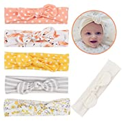 Mookiraer Newest Baby Headbands Turban Knotted, Girl's Hairbands for Newborn,Toddler and Childrens (LXZ39)