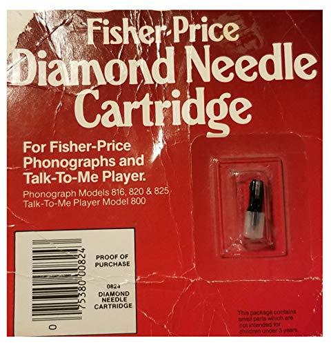 Diamond Needle Cartridge - For Phonographs and Talk To Me Player (Fisher Price Diamond)