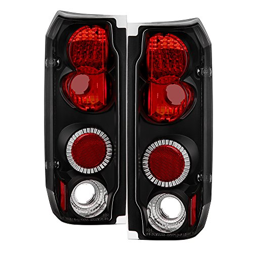 Spyder Auto Ford F150/Ford Bronco Black Altezza Tail Light