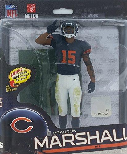 McFarlane Toys NFL Series 34 Brandon Marshall Figure - Rare Classic Uniform