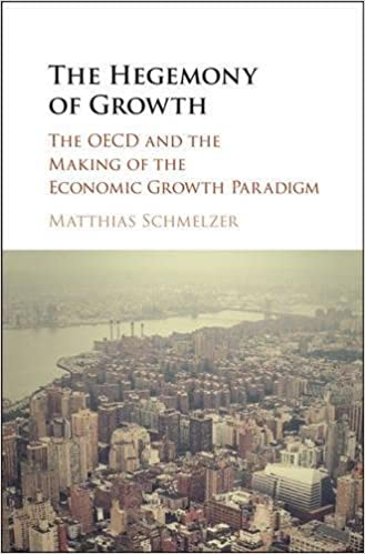 The Hegemony of Growth: book cover