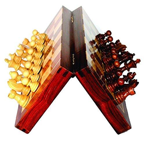 Premium Craftstore14 - (Juego de ajedrez de 10 x 10 pulgadas) - El mejor palo de madera de madera hecho a mano 10 x 10...