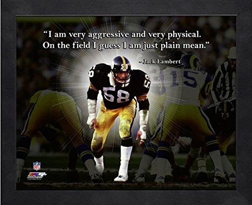 Jack Lambert Pittsburgh Steelers ProQuotes Photo (Size: 12