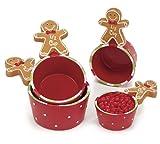 Gingerbread Joy Christmas Measuring Cup Set