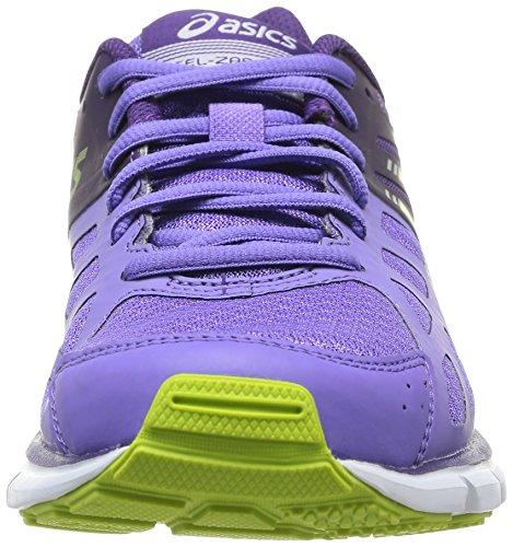 Asics GEL purple Purple Dark Lime Traillaufschuhe 3605 3 Damen ZARACA Violett ppPFwqr