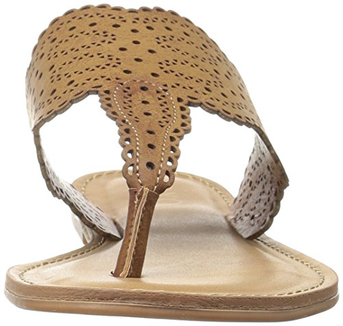 Sandal Roxana Women's Tan Flat XOXO nxTwdXq56