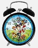 PAW Patrol Alarm Desk Clock 3.75'' Room Office Decor E69 Will Be a Nice Gift