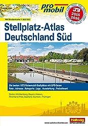Deutschland Süd Stellplatz-Atlas 2015