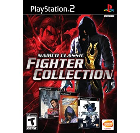 Amazon Com Namco Classic Fighter Collection Playstation 2