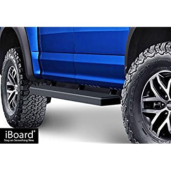Amazon Com Aps Iboard Running Boards 5 Matte Black Custom Fit 2015