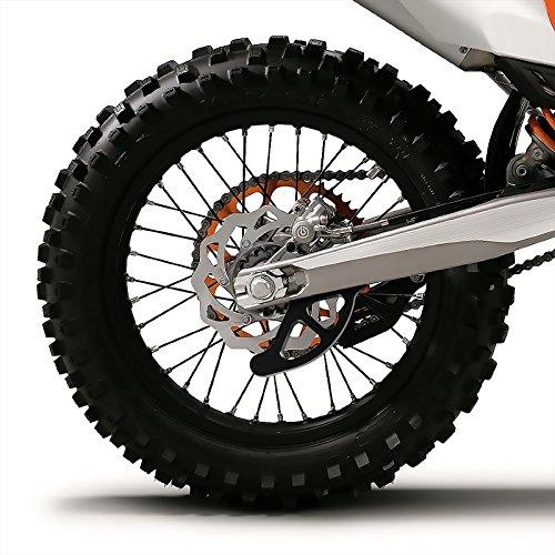 EXC Protection de Disque de Frein arri/ère pour KTM SX SX-F FC TC//Husaberg Noir EXC-F//Husqvarna Te FE