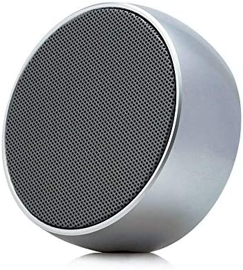 Portable Wireless Bluetooth Speakers with HD Audio and Enhanced Bass, Built-In Speakerphone for iPhone, iPad, Blackberry, Samsung and More Silver