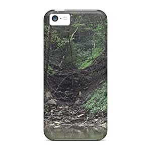 For Iphone 5c Fashion Design Brook Case-ZiPwoXD6182DKjpT