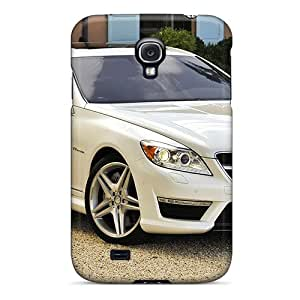Galaxy S4 Case, Premium Protective Case With Awesome Look - Mercedes Benz V6 Biturbo