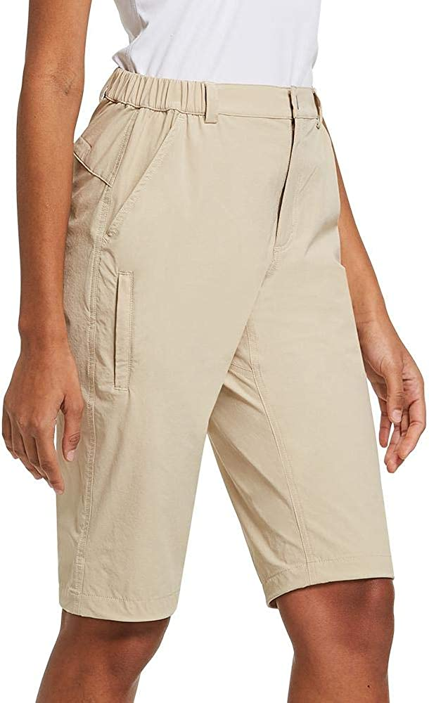 BALEAF Womens Quick Dry Stretch Hiking Shorts Water-Repellent Athletic Jogger Pants