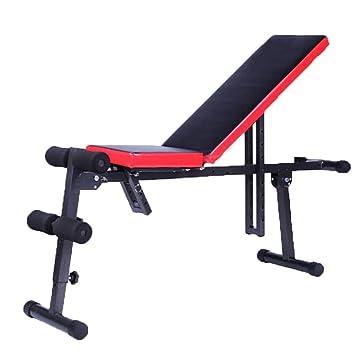 Banco de musculación Equipo de Ejercicios Abdominales Mancuernas Multifunción Lazy Belly Board Deportes en casa: Amazon.es: Hogar