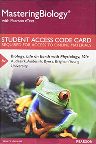 Amazon Masteringbiology Without Pearson Etext For With