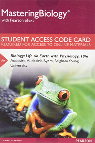 MasteringBiology without Pearson eText for with MasteringBiology Virtual Lab Full Suite -- Standalone Access Card -- for